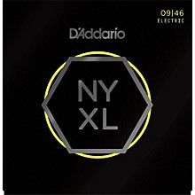 D'Addario NYXL0946 Super Light Top/Regular Bottom Electric Guitar Strings