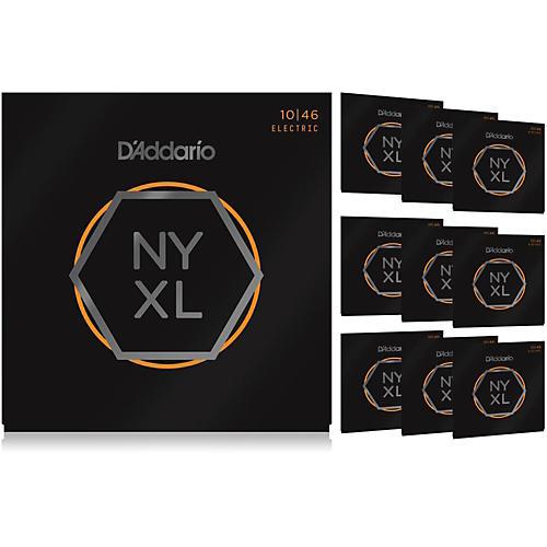 D'Addario NYXL1046 Light 10-Pack Electric Guitar Strings