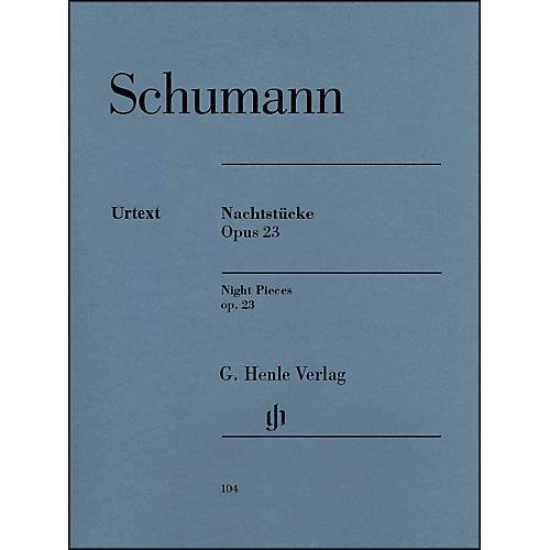 G. Henle Verlag Nachtst¼cke, Op. 23 (Night Pieces) By Schumann