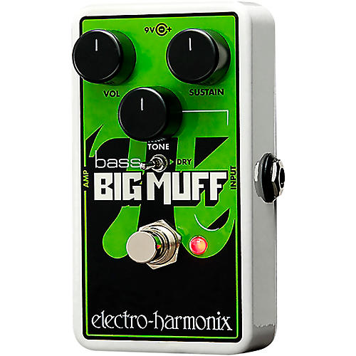 Electro-Harmonix Nano Bass Big Muff Distortion Bass Effects Pedal