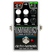 Nano Battalion Bass Preamp & Overdrive Effects Pedal