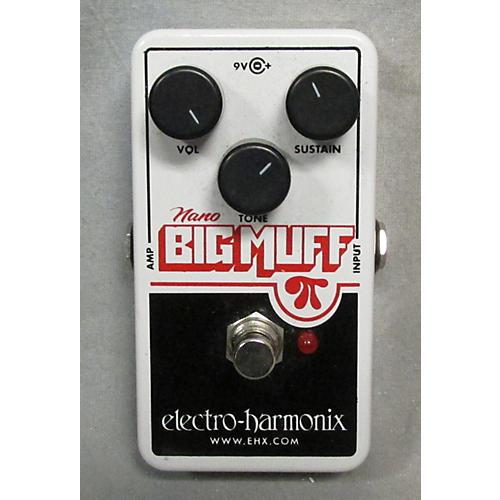 used electro harmonix nano big muff distortion effect pedal guitar center. Black Bedroom Furniture Sets. Home Design Ideas