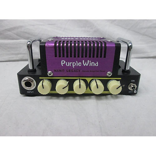 Hotone Effects Nano Legacy Purple Wind Solid State Guitar Amp Head