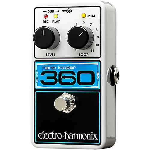 electro harmonix nano looper 360 guitar effects pedal guitar center. Black Bedroom Furniture Sets. Home Design Ideas