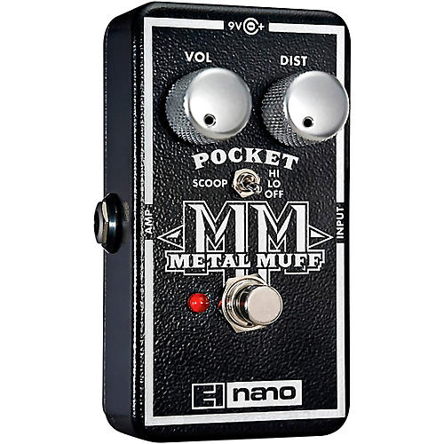 Electro-Harmonix Nano Pocket Metal Muff Distortion Guitar Effects Pedal