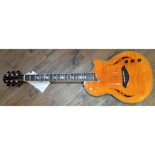 Giannini Nashlyn-A Amber Acoustic Electric Guitar