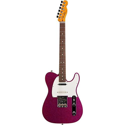 fender custom shop nashville american telecaster electric guitar magenta sparkle rosewood. Black Bedroom Furniture Sets. Home Design Ideas