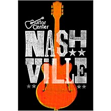 Guitar Center Nashville Guitar Graphic Magnet