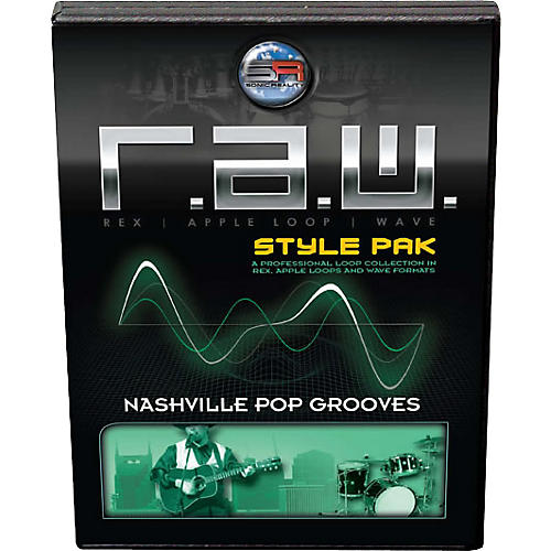 Sonic Reality Nashville Pop Grooves R.A.W. Style Pak