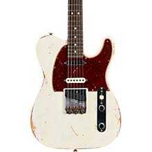 Nashville Telecaster Custom Relic Rosewood Fingerboard Electric Guitar Aged Olympic White