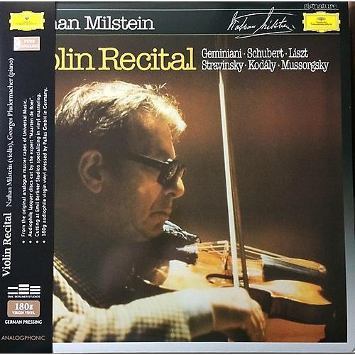 Alliance Nathan Milstein - Violin Recital