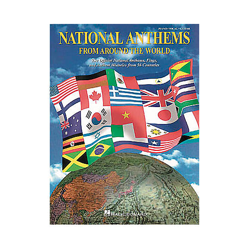 Hal Leonard National Anthems Piano, Vocal, Guitar Songbook