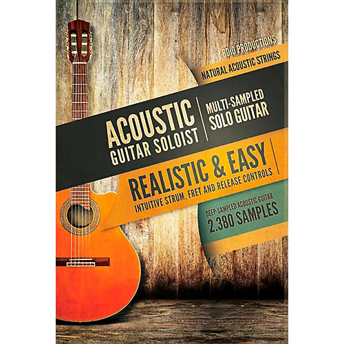 8DIO Productions Natural Acoustic Series: Acoustic Guitar Solo