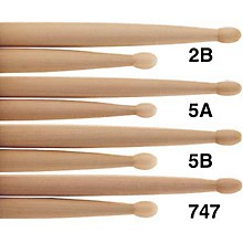 PROMARK Natural Hickory Drumsticks Nylon 5B