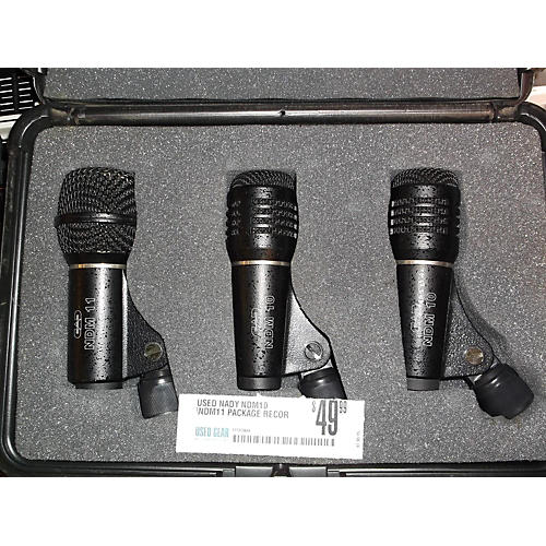 Nady Ndm10 \ndm11 Package Recording Microphone Pack
