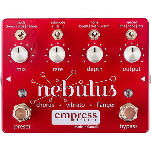 Empress Effects Nebulus Chorus Vibrato Flanger Effects Pedal