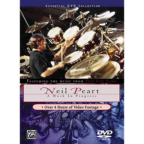 Warner Bros Neil Peart Work In Progress DVD