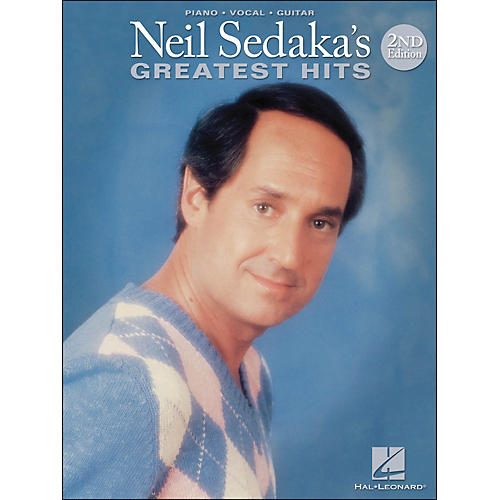 Hal Leonard Neil Sedaka's Greatest Hits 2nd Edition arranged for piano, vocal, and guitar (P/V/G)