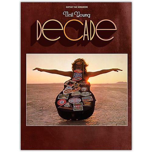 Hal Leonard Neil Young - Decade Guitar Tab