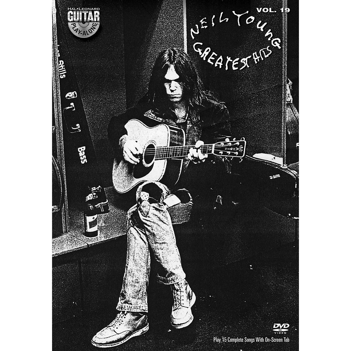 Hal Leonard Neil Young - Guitar Play-Along DVD Volume 19