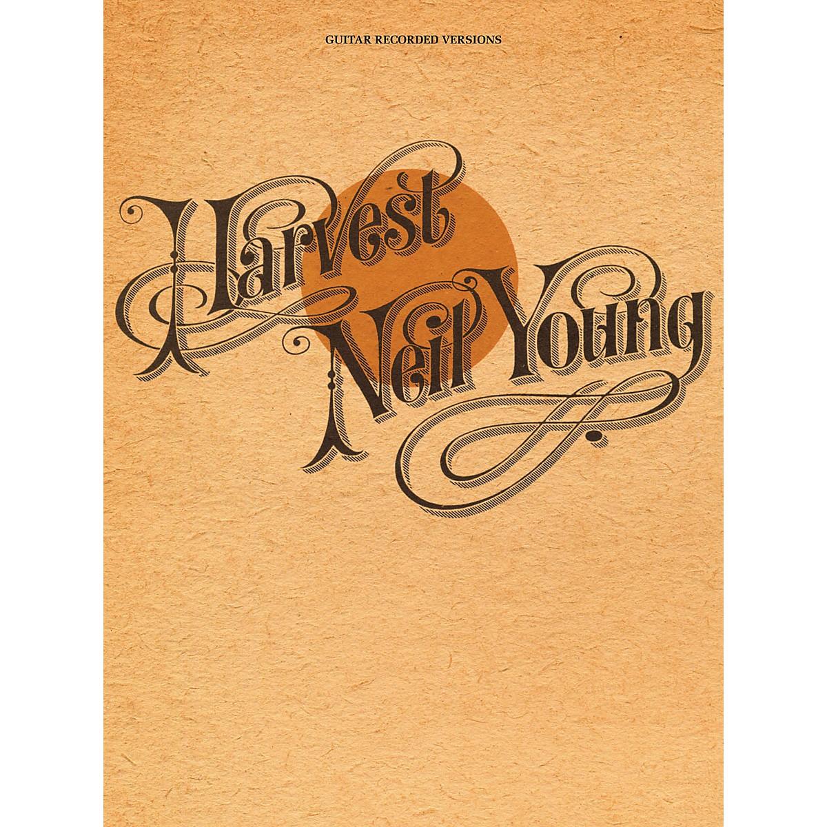 Hal Leonard Neil Young - Harvest Guitar Tab Songbook
