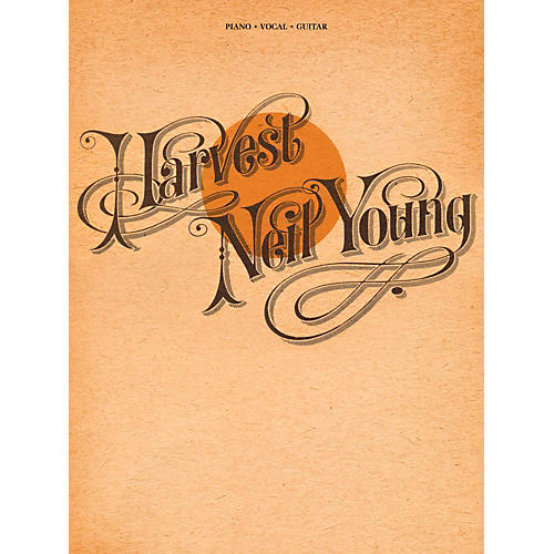 Hal Leonard Neil Young - Harvest for Piano/Vocal/Guitar (P/V/G)