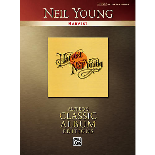 Alfred Neil Young Harvest Classic Album Edition Guitar Tab Songbook