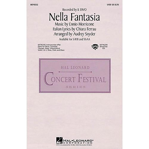 Hal Leonard Nella Fantasia (In My Fantasy) SATB by Il Divo arranged by Audrey Snyder