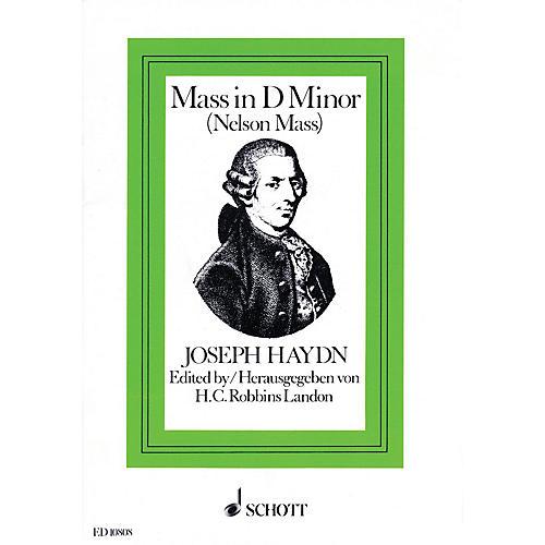 Schott Nelson Mass, Hob. XXII:11 Vocal Score Composed by Joseph Haydn Arranged by H.C. Robbins Landon