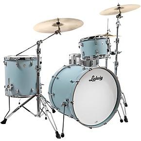 "Ludwig Neusonic 3-Piece Shell Pack with 22"" Bass Drum Skyline Blue"