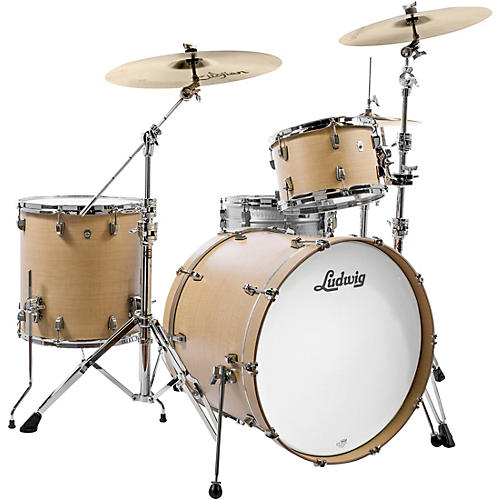 Ludwig Neusonic 3-Piece Shell Pack with 22