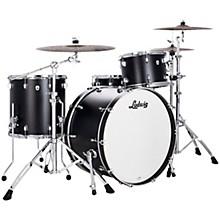 Neusonic 3 piece Pro Beat Shell Pack with 24 in. Bass Drum Black Velvet