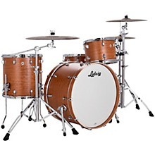 Neusonic 3 piece Pro Beat Shell Pack with 24 in. Bass Drum Satinwood