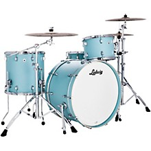 Neusonic 3 piece Pro Beat Shell Pack with 24 in. Bass Drum Skyline Blue