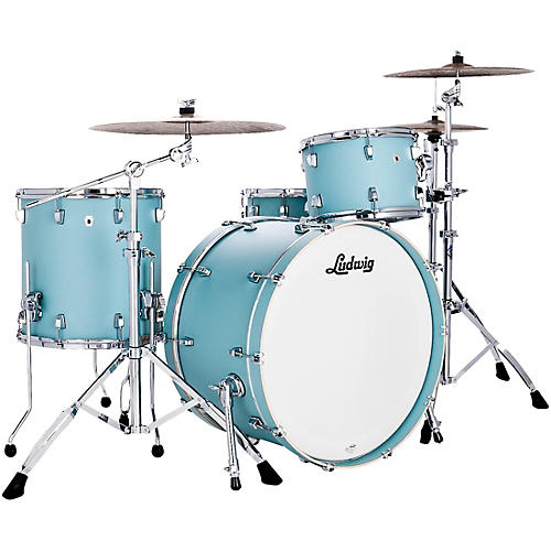 Ludwig Neusonic 3 piece Pro Beat Shell Pack with 24 in. Bass Drum