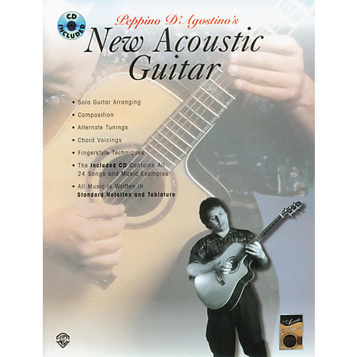 Alfred New Acoustic Guitar Book/CD