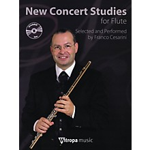 Mitropa Music New Concert Studies for Flute Mitropa Play-Along Book Series Arranged by Franco Cesarini