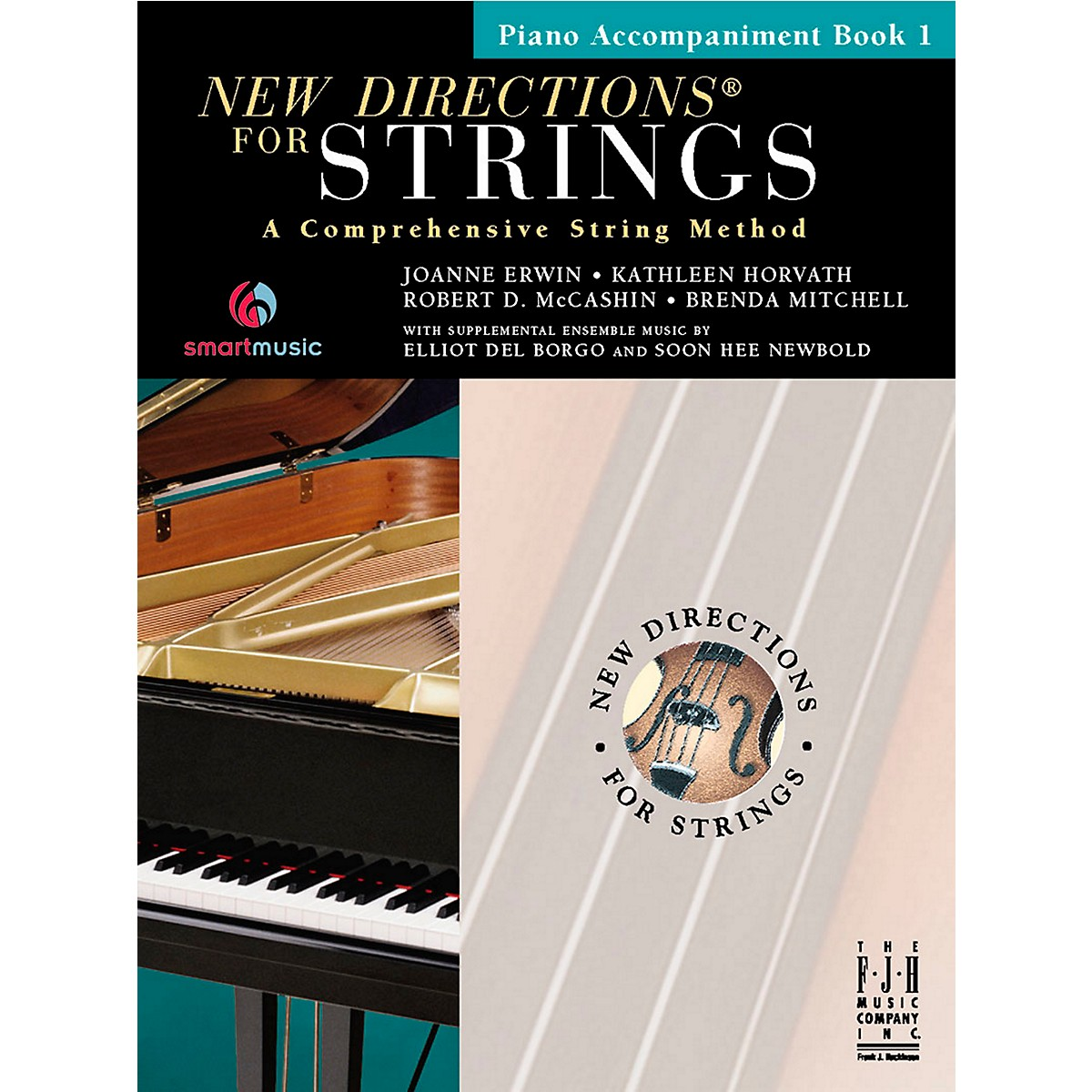 FJH Music New Directions For Strings, Piano Accompaniment Book 1