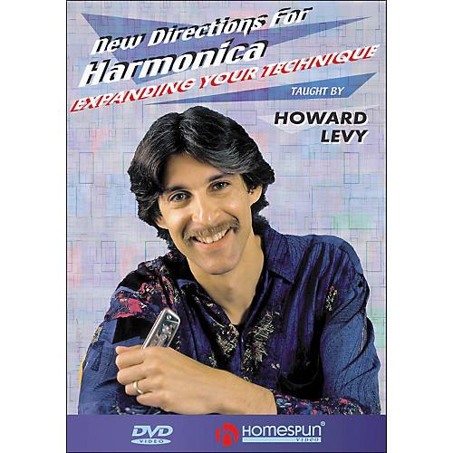 Homespun New Directions for Harmonica DVD