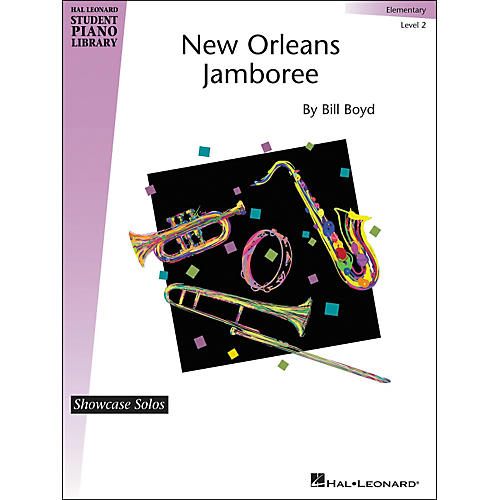 Hal Leonard New Orleans Jamboree - Hal Leonard Student Piano Library Showcase Solos Level 2 - Elementary by Bill Boyd