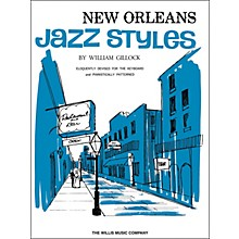 Willis Music New Orleans Jazz Styles Keyboard Piano by William Gillock