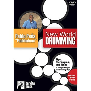 Berklee Press New World Drumming Instructional/Drum/DVD Series DVD Performe... by Berklee Press