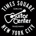 Guitar Center New York City and Times Square GO - White/Black Sticker thumbnail