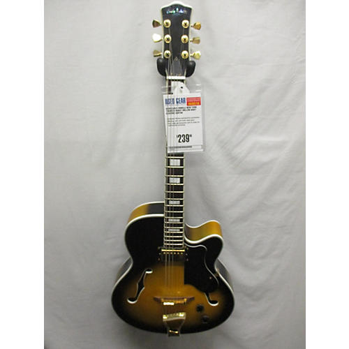 used carlo robelli new york hollow body electric guitar guitar center. Black Bedroom Furniture Sets. Home Design Ideas