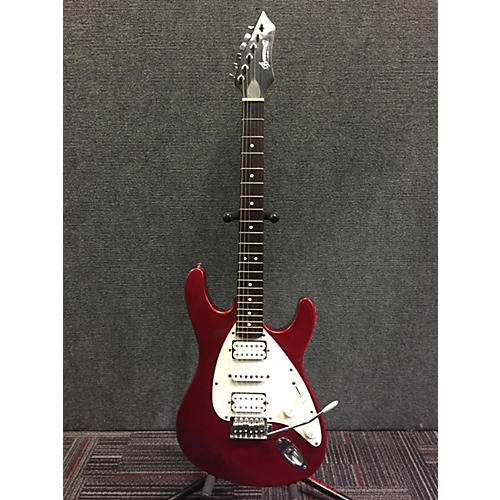used brownsville new york strat solid body electric guitar red guitar center. Black Bedroom Furniture Sets. Home Design Ideas