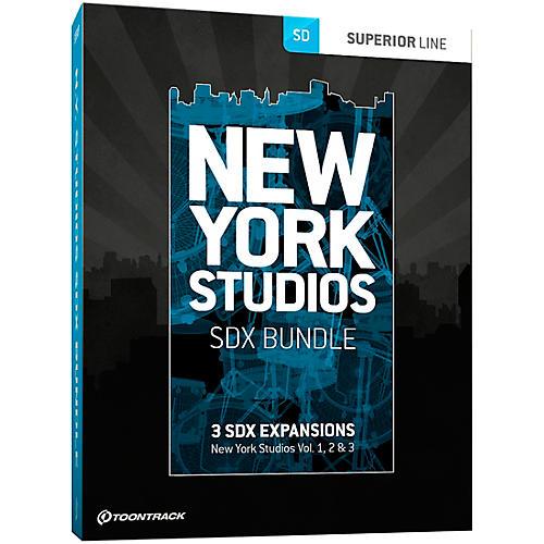 Toontrack New York Studios SDX Bundle