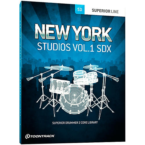 Toontrack New York Studios Volume 1 SDX