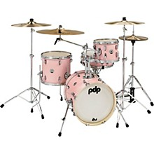 New Yorker 4-Piece Shell Pack w/ 16 in. Bass Drum Pale Rose Sparkle
