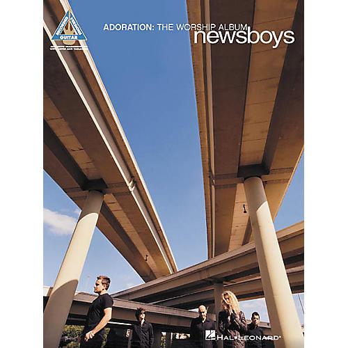 Hal Leonard Newsboys Adoration: The Worship Album Guitar Tab Songbook