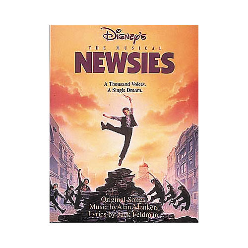 Hal Leonard Newsies Piano/Vocal/Guitar Songbook